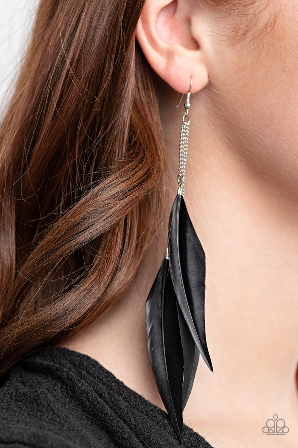 Paparazzi Jewelry & Accessories - West Side Western - Black Earrings. Bling By Titia Boutique