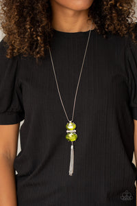 Paparazzi Jewelry & Accessories - Runway Rival - Green Necklace. Bling By Titia Boutique