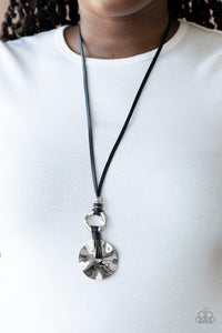 Paparazzi Jewelry & Accessories - Nautical Nomad - Black Necklace. Bling By Titia Boutique