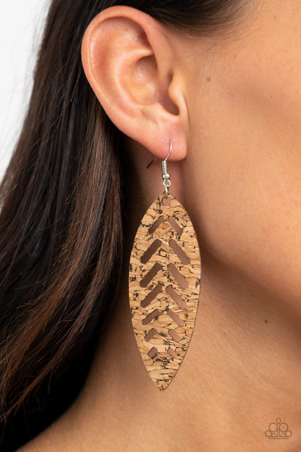 Paparazzi Jewelry & Accessories - You're Such a CORK - Earrings. Bling By Titia Boutique