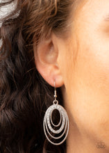 Load image into Gallery viewer, Paparazzi Jewelry & Accessories - Date Night Diva - White Earrings. Bling By Titia Boutique