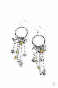 Paparazzi Jewelry & Accessories - Charm School - Yellow Earrings. Bling By Titia Boutique