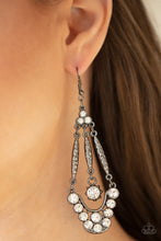 Load image into Gallery viewer, Paparazzi Jewelry & Accessories - High-Ranking Radiance - Black Earrings. Bling By Titia Boutique