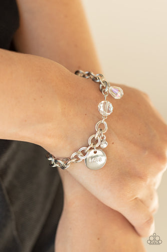 Paparazzi Jewelry & Accessories - Lovable Luster - White Bracelet. Bling By Titia Boutique