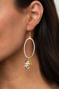 Paparazzi Jewelry & Accessories - Golden Grotto - Yellow Earrings. Bling By Titia Boutique