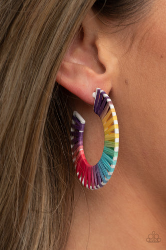 Paparazzi Jewelry & Accessories - Everybody Conga! - Multi Earrings. Bling By Titia Boutique