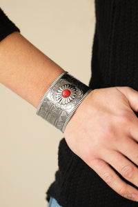 Paparazzi Jewelry & Accessories - Aztec Artisan - Red Bracelet. Bling By Titia Boutique