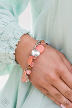 Load image into Gallery viewer, Paparazzi Jewelry & Accessories - Springtime Springs - Orange Bracelet. Bling By Titia Boutique