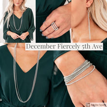 Load image into Gallery viewer, Paparazzi Accessories - Fiercely 5th Avenue - December 2019