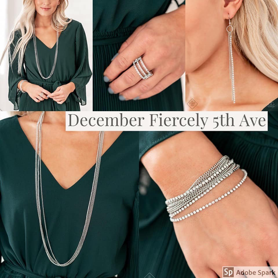 Paparazzi Accessories - Fiercely 5th Avenue - December 2019