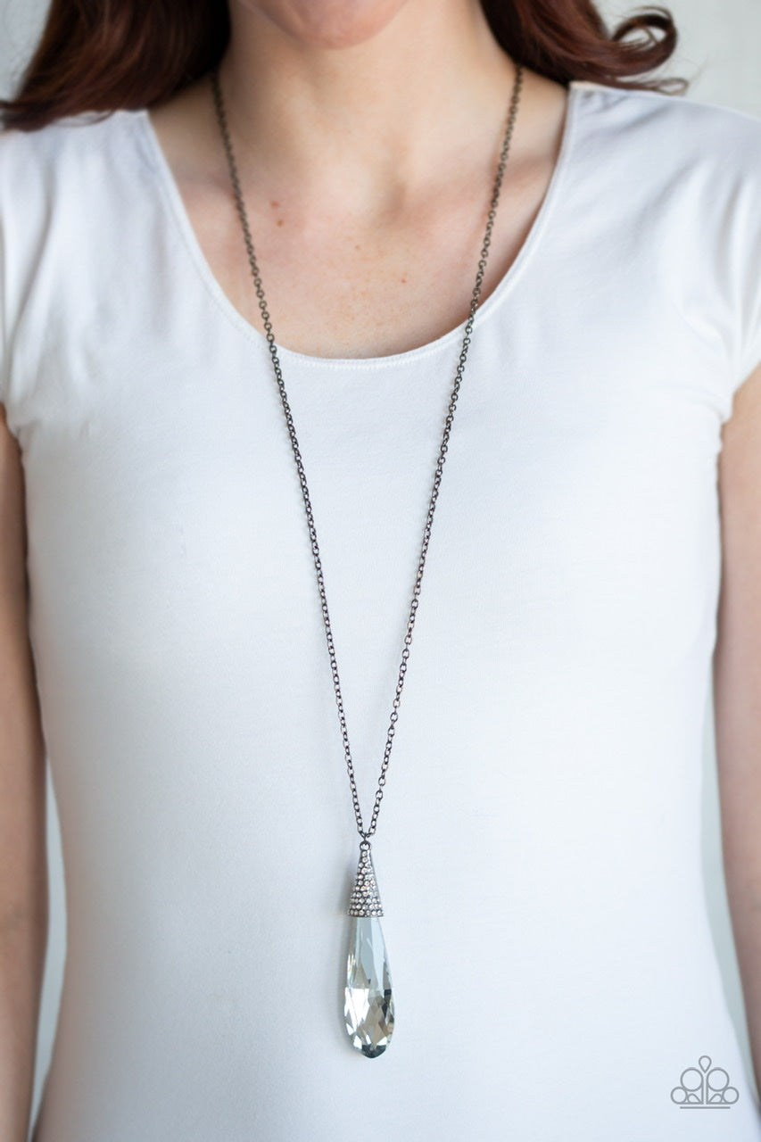 Paparazzi Jewelry & Accessories - Jaw Droppingly Jealous - Black Necklace. Bling by Titia Boutique