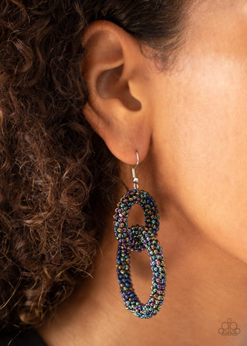 Paparazzi Jewelry & Accessories - Luck BEAD a Lady - Multi Earrings. Bling By Titia Boutique. Bling By Titia Boutique