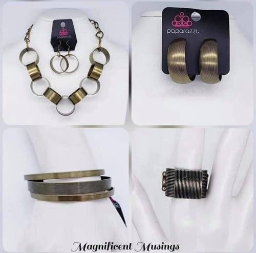 Magnificent Musings - Complete Trend Blend October 2019 Paparazzi Jewelry Fashion Fix Set paparazzi accessories jewelry neckace