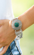 Load image into Gallery viewer, Avant Vanguard - Green Paparazzi Jewelry Bracelet paparazzi accessories jewelry Bracelet