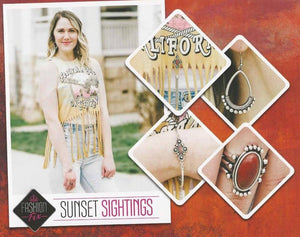 Sunset Sightings - Complete Trend Blend May 2018 Paparazzi Jewelry Fashion Fix Set paparazzi accessories jewelry Necklaces