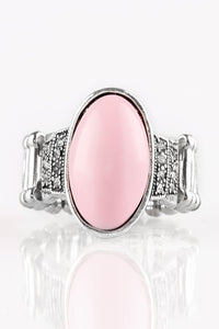 Bead-To-Know Basis - Pink Paparazzi Jewelry Ring paparazzi accessories jewelry Ring