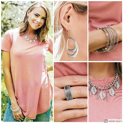 Sunset Sightings - Complete Trend Blend July 2018 Paparazzi Jewelry Fashion Fix Set paparazzi accessories jewelry Necklaces