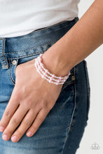 Load image into Gallery viewer, Classic Confidence - Pink Paparazzi Jewelry Bracelet paparazzi accessories jewelry Bracelet