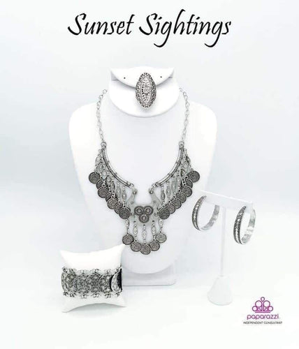 Sunset Sightings - Complete Trend Blend September 2019 Paparazzi Jewelry Fashion Fix Set