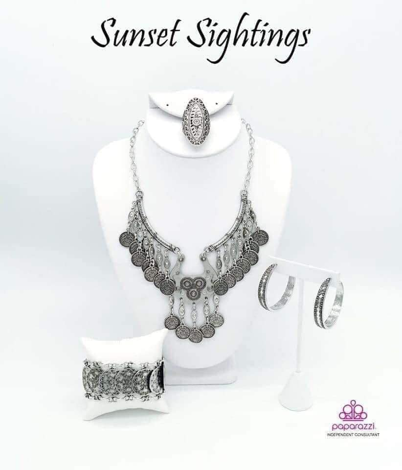 Sunset Sightings - Complete Trend Blend September 2019 Paparazzi Jewelry Fashion Fix Set paparazzi accessories jewelry Necklace