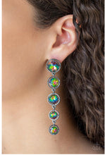 Load image into Gallery viewer, Paparazzi Jewelry & Accessories - Drippin in Starlight - Multi Earrings. Bling By Titia Boutique