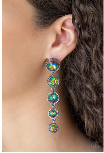 Paparazzi Jewelry & Accessories - Drippin in Starlight - Multi Earrings. Bling By Titia Boutique