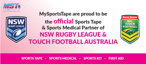 MST my sports tape mysportstape NSW rugby league and touch football Australia sponsors