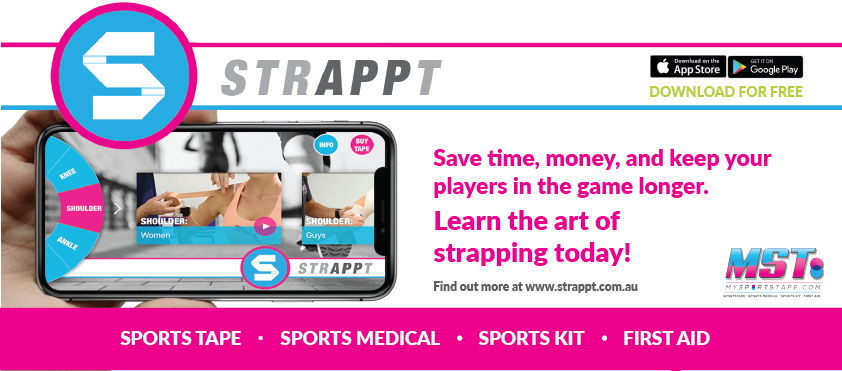 Strappt app by my sports tape download on the app store now