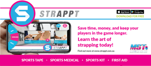 MST my sports tape mysportstape strappt app with michelle jenneke and steve menzies