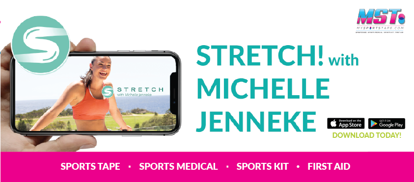 stretch with michelle jenneke by mst app