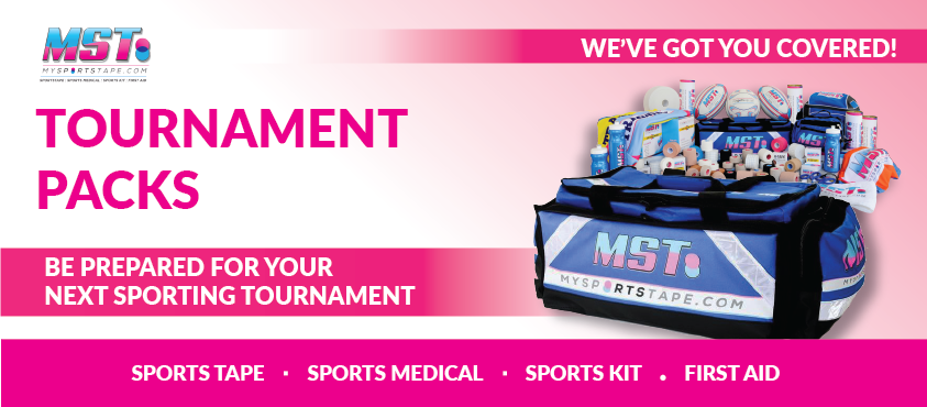 mysportstape mst my sports tape tournament sporting carnival packs available