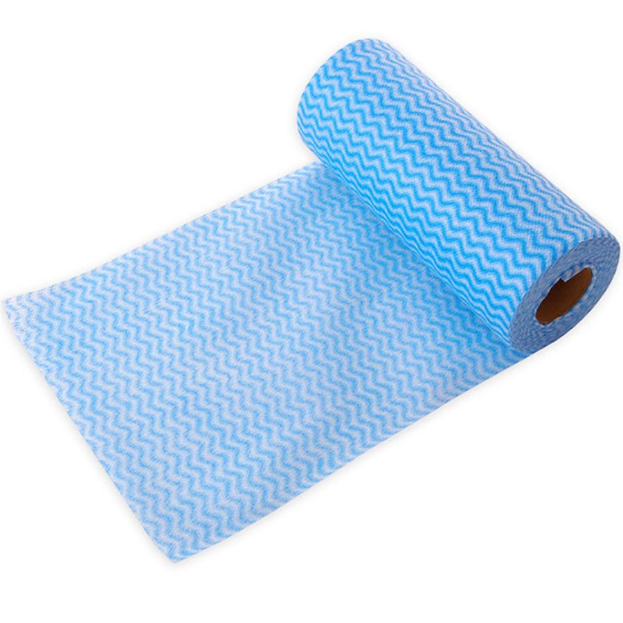 chux cloth roll blue