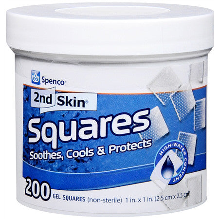 Spenco 2nd Skin Squares - Tub of 200