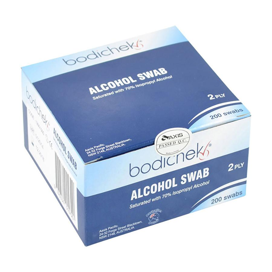 bodichek alcohol swabs 200 pack
