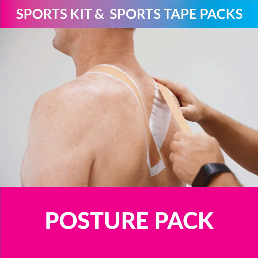 MST my sports tape posture pack strappt app steve menzies nsw rugby league blues