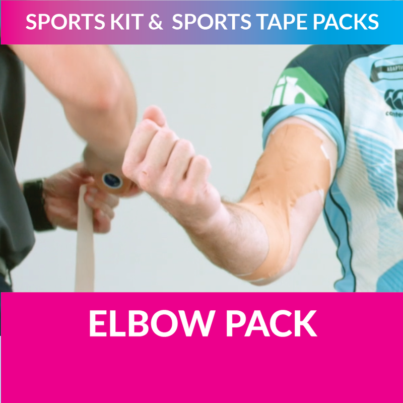 MST my sports tape elbow pack strappt app steve menzies nsw rugby league blues
