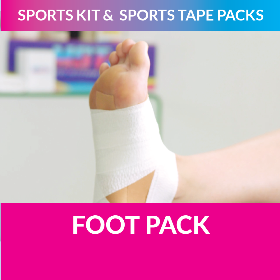MST my sports tape foot pack strappt app learn to strap
