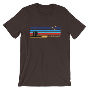 San Pedro collection t-shirt by Four Robins Ltd. Brown