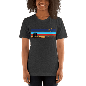 San Pedro Collection t-shirt. Charcoal. Women's