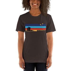 San Pedro Collection t-shirt. Brown. Women's