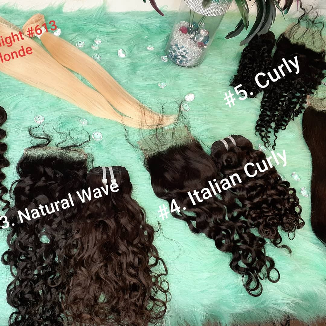 Just 4 Bundles w/any Closure