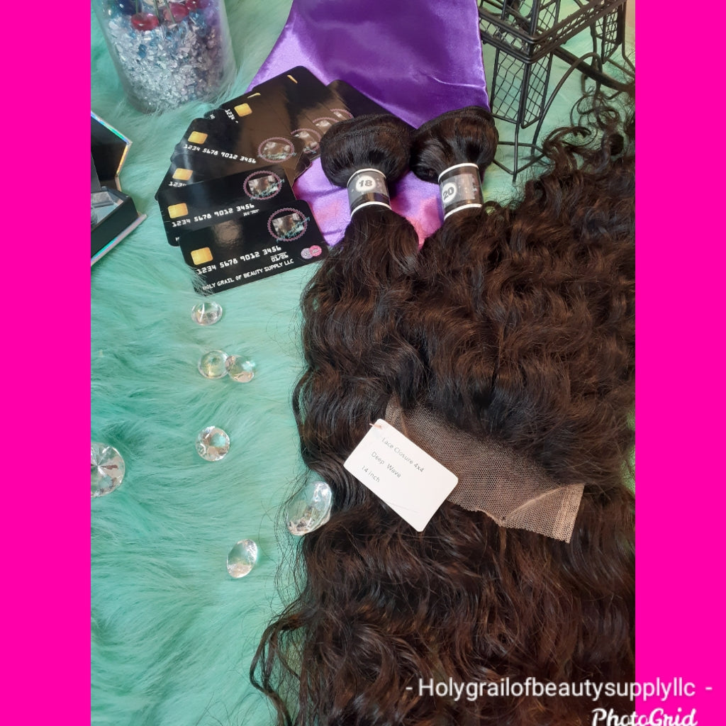 Just 2 Bundles w/any Closure