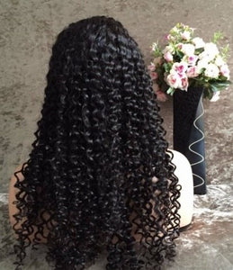 Peruvian Curly Lace Wig