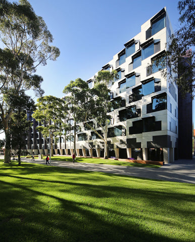 Halls Of Residence Monash University by Charles McBride Ryan