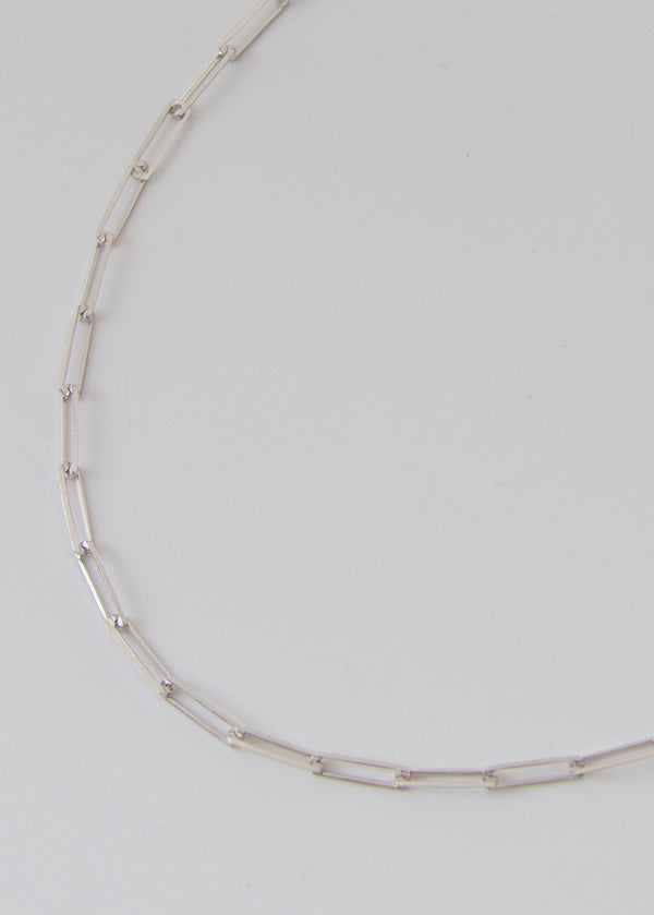 Harlem Silver Chain Necklace - AURORI