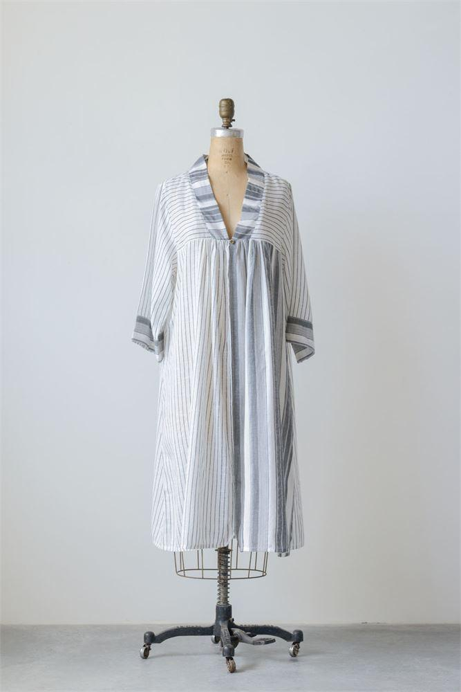 Isabella Stripe Button Duster