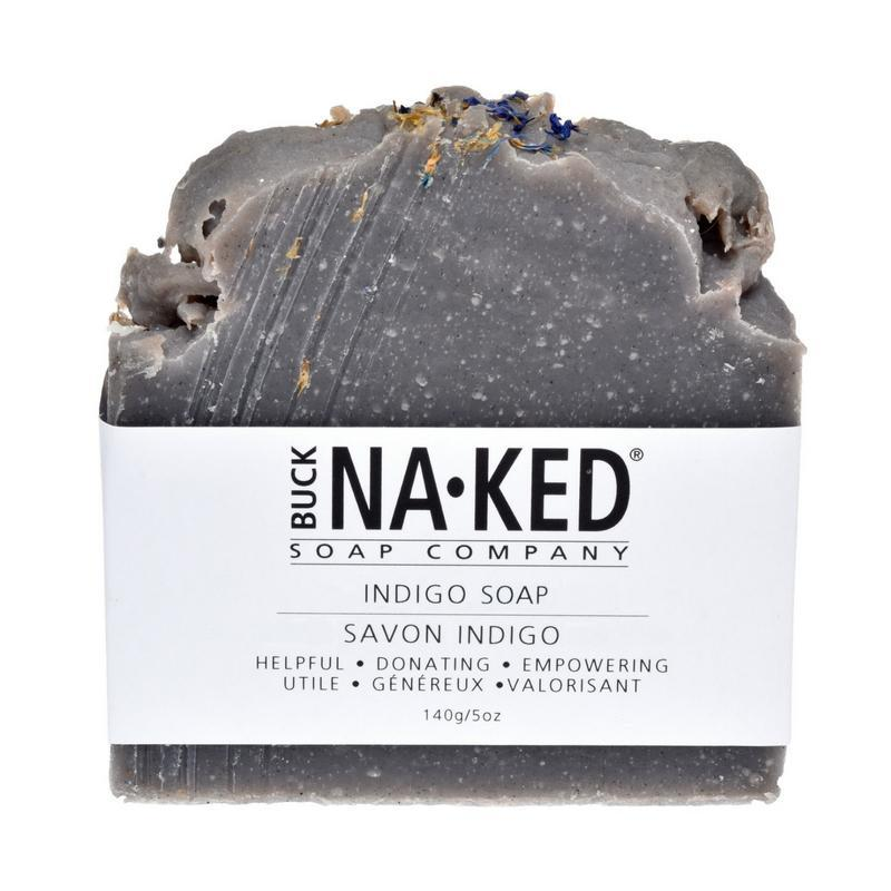 Buck Naked Soap Company - Indigo Bar - 140g/5oz