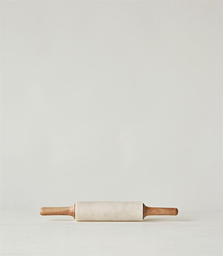 Marble + Wood Rolling Pin