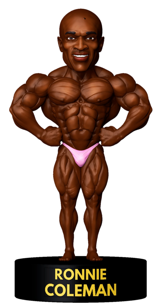 PRE-ORDER: Ronnie Coleman - Front Lat Spread