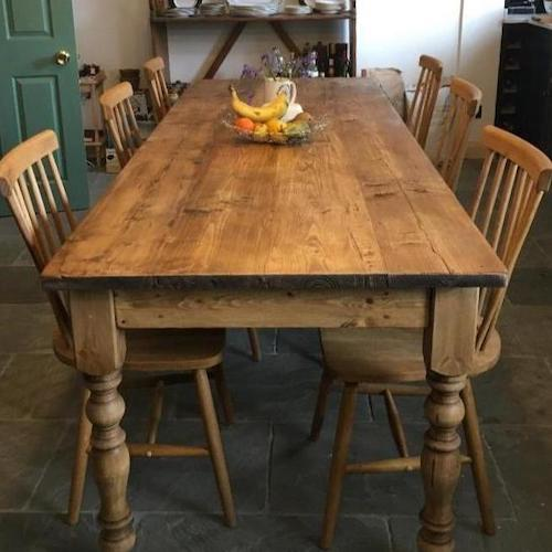 How to keep your reclaimed wood dining table looking its best